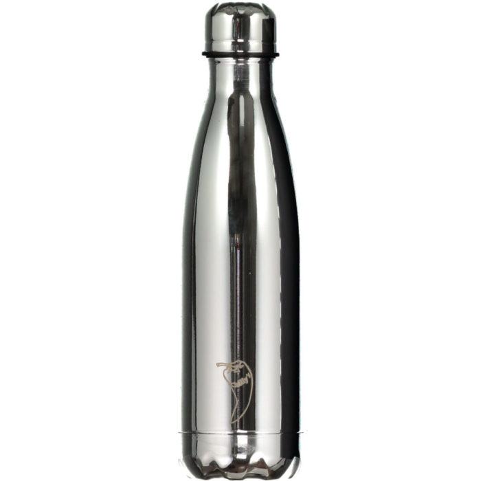 Krom farger-Chilly's bottles- krom-Sølv-500.ml