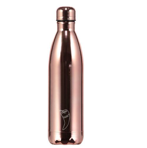 Krom farger-Chillys bottles i krom- rosegull-260.mlChillys bottles i krom- rosegull-750.ml