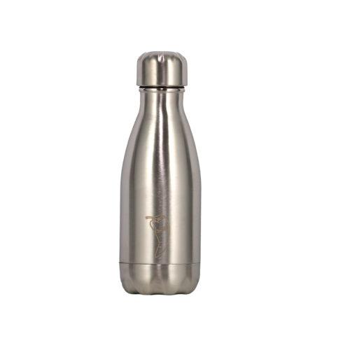 Sølv farger-Chillys bottles i sølv farge-260.ml