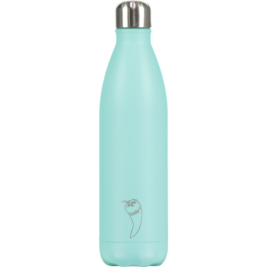 Pastell farger-Chilly's bottles-pastel design-green-grønn 750.ml